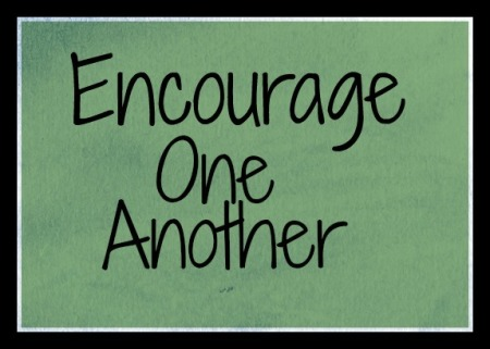 "The word for the day taken from ""The Word for the Day"" in Biblegateway.com is ""Encourage."""
