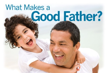 L-O-V-E provides the basis for four qualities of a good father.