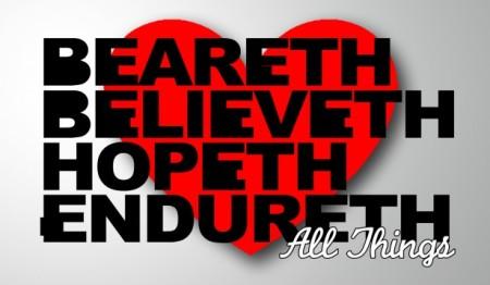 Love beareth