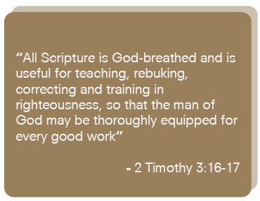 2 Timothy 3 16-17