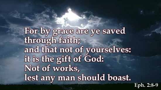 Image result for picture ephesians 2:8-9
