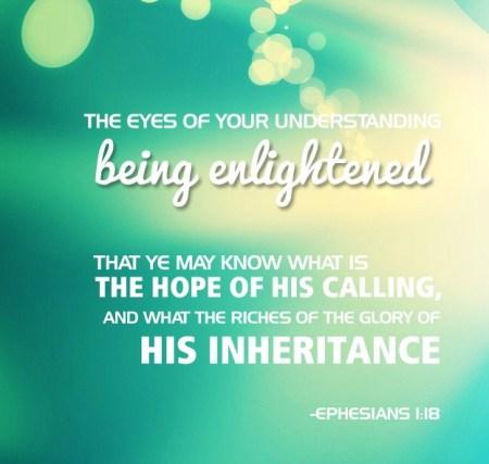 Ephesians 1 18
