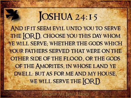 Joshua 24v15