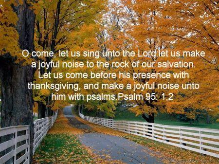 Psalm 95 1 2 310904561