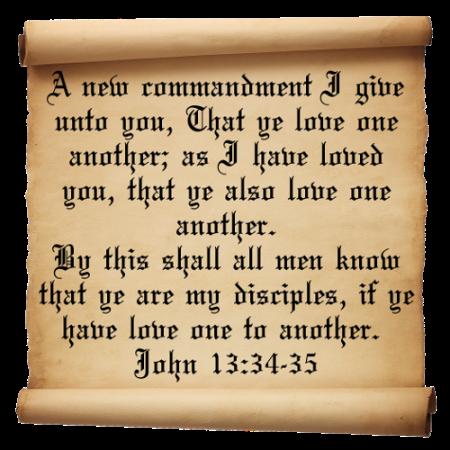 John-13-verse-34-35