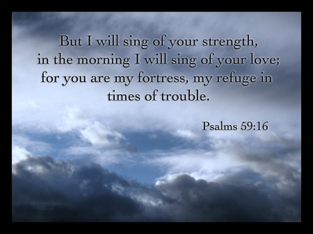 Psalm 59--16