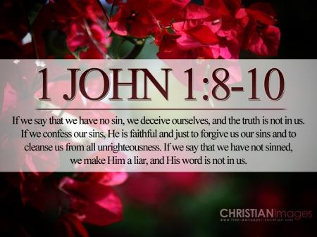 1 John-1 8-10