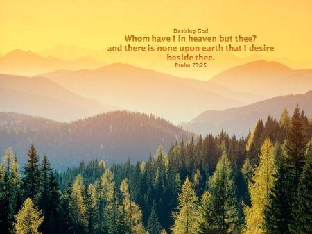 Psalm 73--25