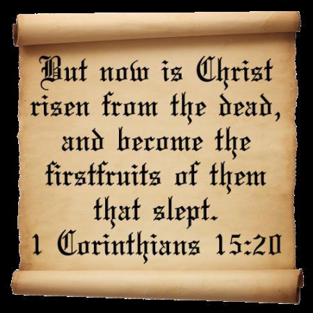 1 Corinthians-15-Verse-20
