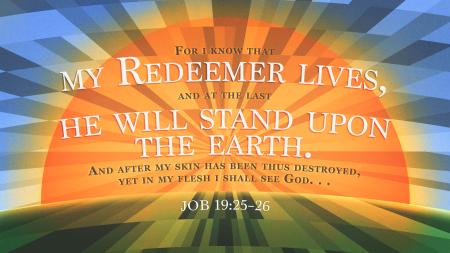 Job 19.25-26
