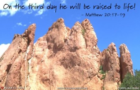 Matthew 20_17-19