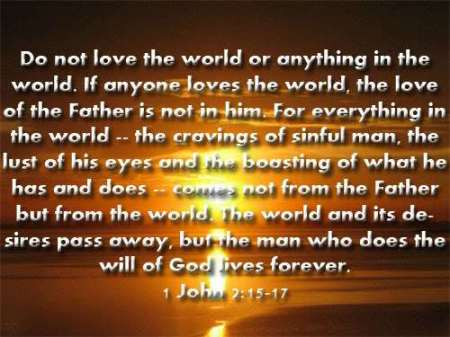 1 John 2-15-17