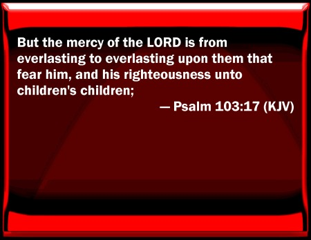 Psalm 103--17