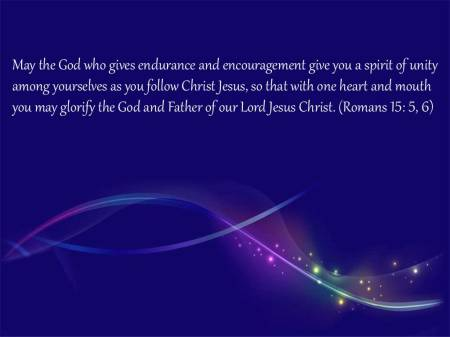 Romans 15 5-6
