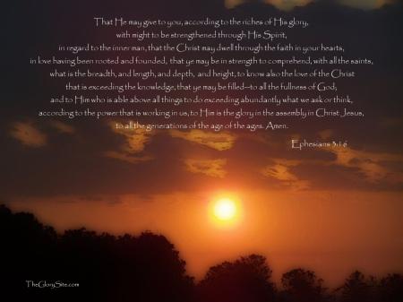 Ephesians 3--16