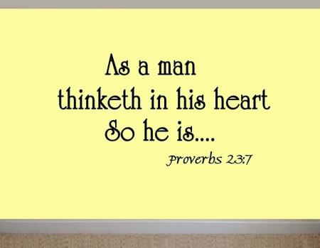 Proverbs 23--7