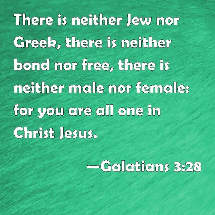 Galatians 3--28