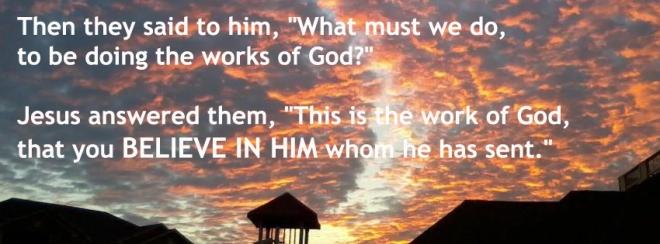 John 6--28-29