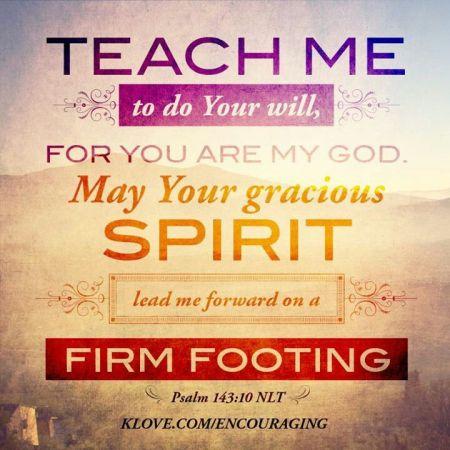 Psalm 143--10