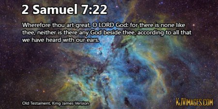 2 Samuel 7_22