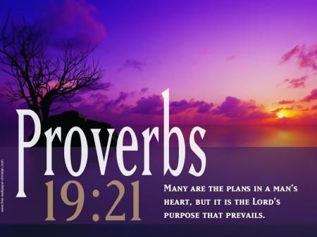 Proverbs 19--21