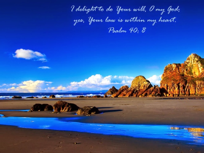 Psalm 40--8
