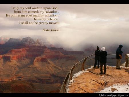 Psalm 62--1