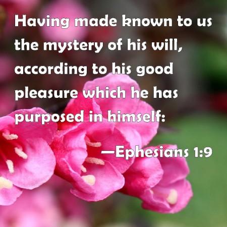 Ephesians 1-9