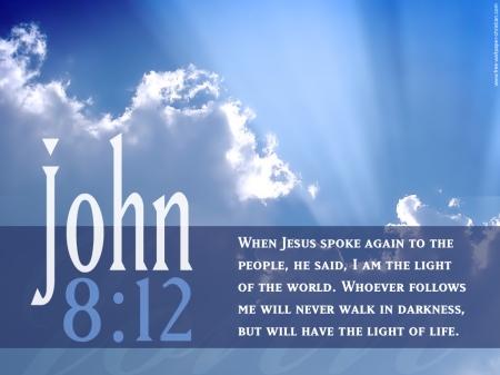 John-8 12