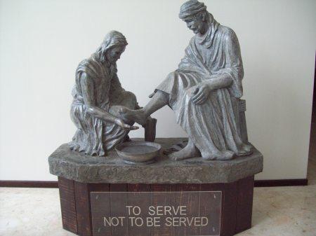 John 13 Statue