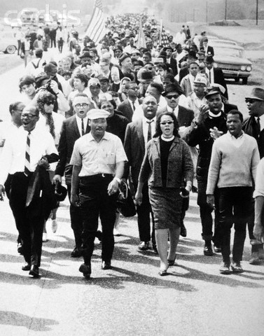 The March from Selma to Montgomery, AL occurred March 25, 1965, one of the pivotal events of the Civil Rights Movement depicted in the recently released film Selma.