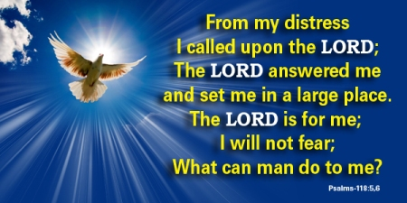 Psalm 118--5-6