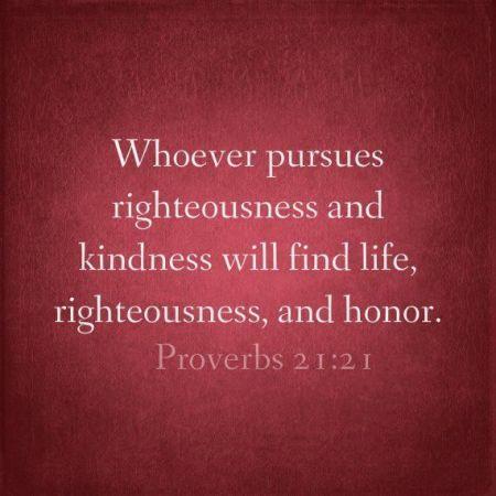 Proverbs 21--21