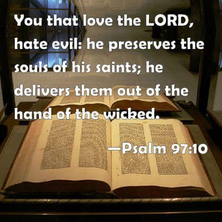 Psalm 97-10