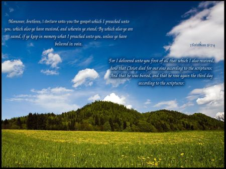 1 Corinthians-15--1-4