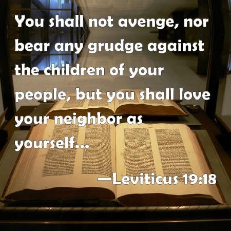 Leviticus 19-18