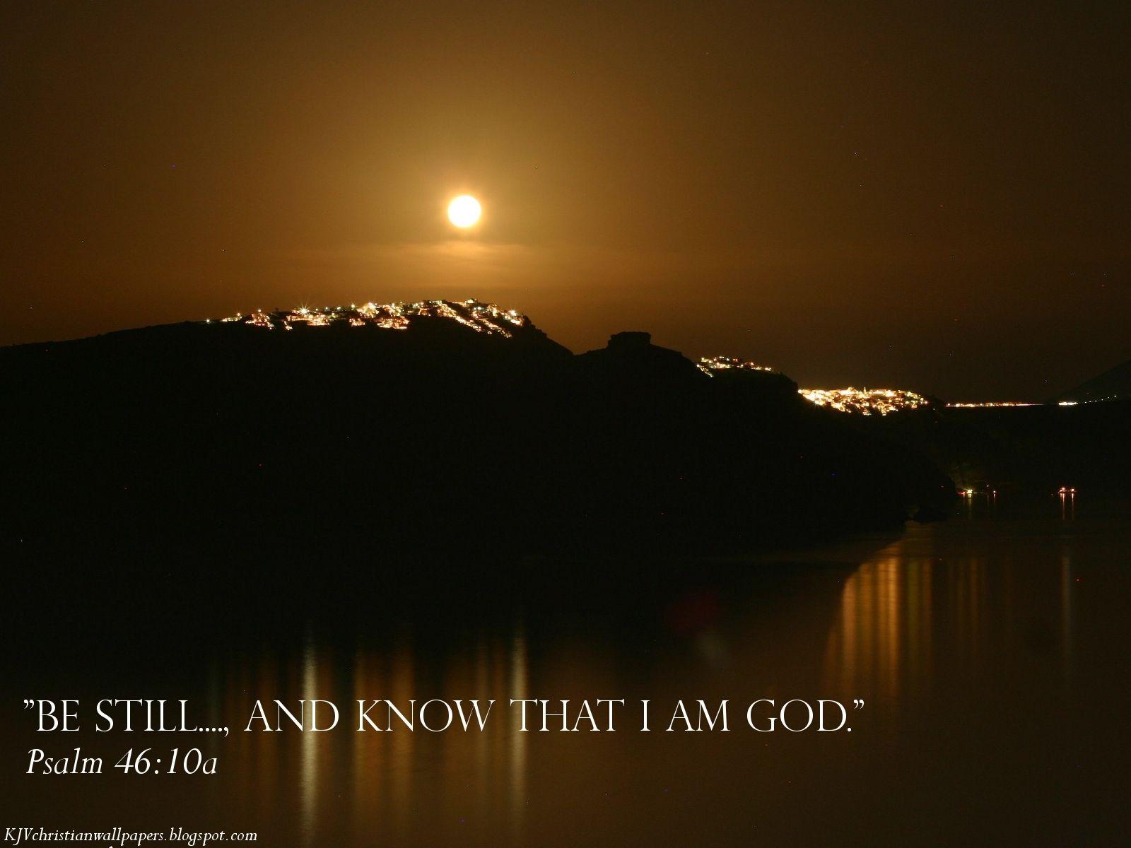 Psalm 46--10a