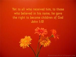 John 1-12