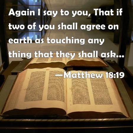 Matthew 18--19