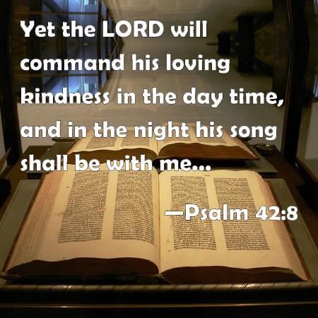 Psalm 42--8