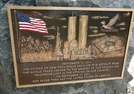 Photo of 9-11 Memorial of Public Park in New Providence, NJ