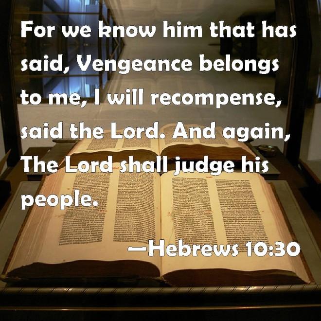 Hebrews 10--30