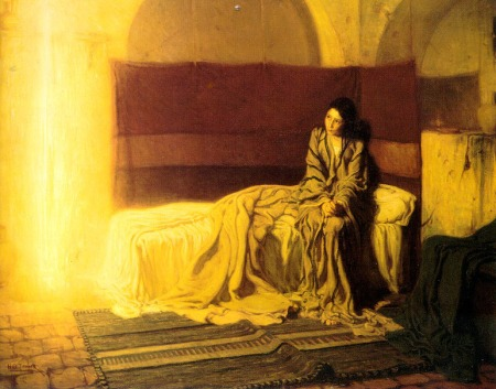 Annunciation by Henry Ossawa Tanner