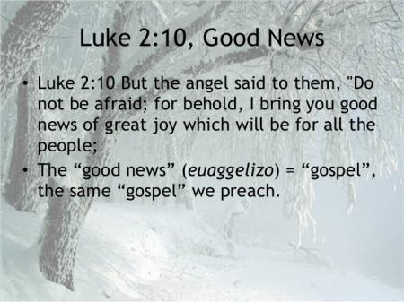 Luke 2--10
