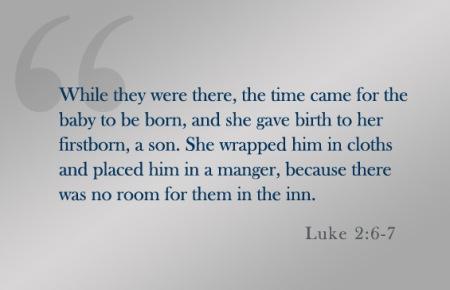 Luke 2--6-7