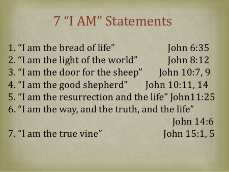 Seven I am Statements in John