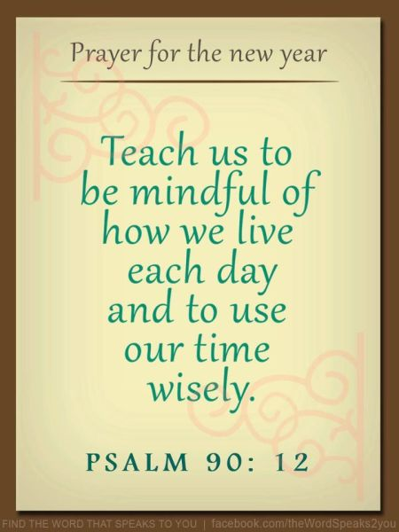 Psalm 90--12