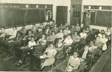 Lonnell's class photo 1951