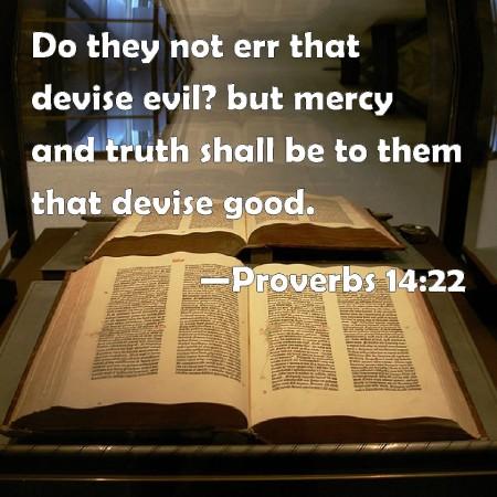 Proverbs 14--22