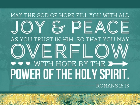 Romans 15--13